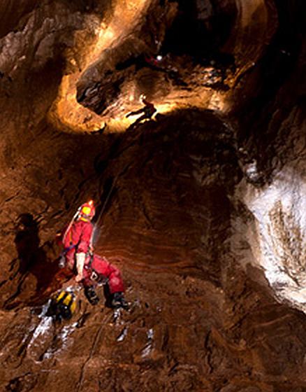Jeskyně Gouffre Berger